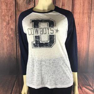 Tops - 2/$15 Dallas Cowboys Raglan Tee